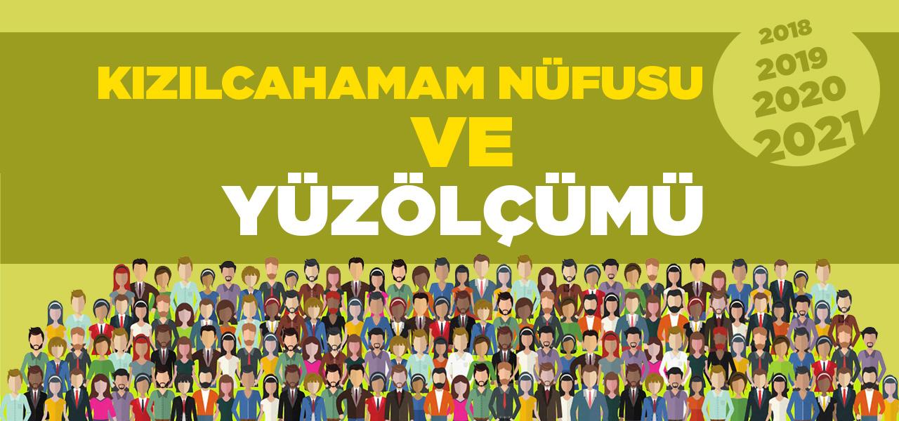 Ankara Kızılcahamam Nüfusu 2020 - 2021   Kızılcahamam İlçesinin Yüzölçümü kaçtır?