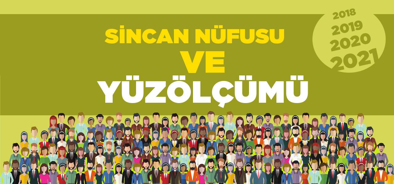 Ankara Sincan Nüfusu 2020 - 2021 | Sincan İlçesinin Yüzölçümü kaçtır?