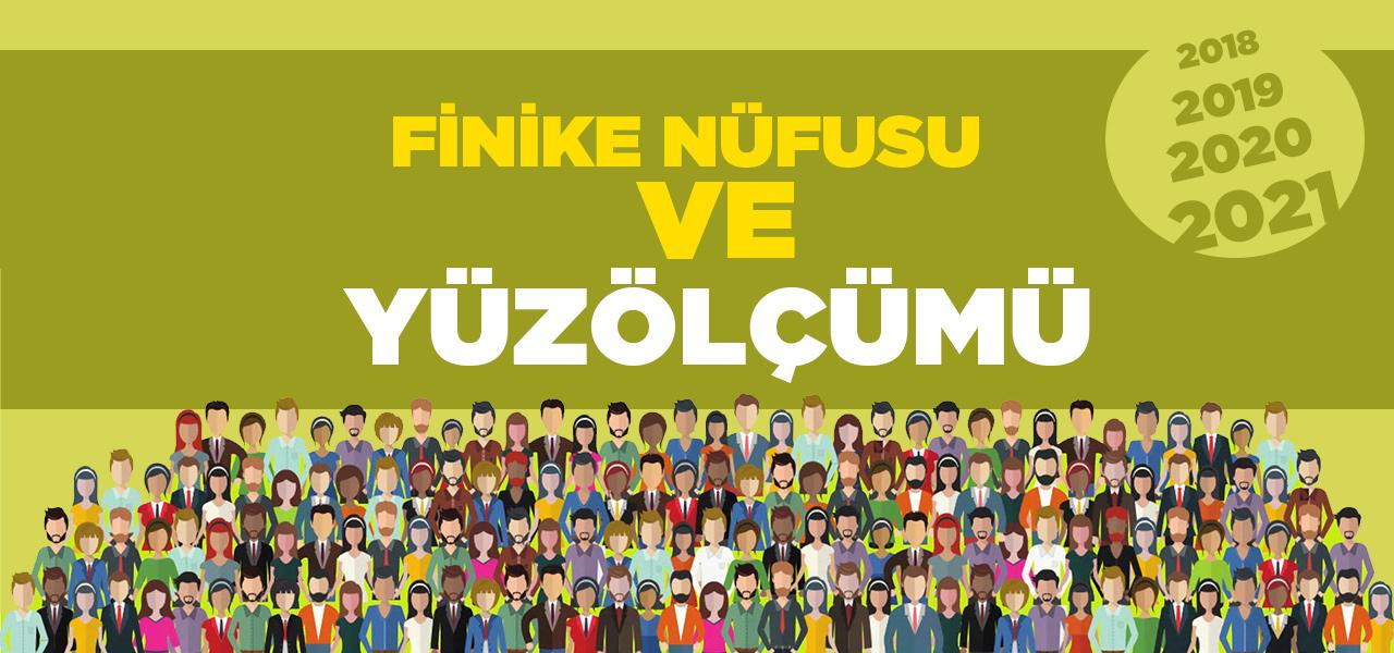 Antalya Finike Nüfusu 2020 - 2021   Finike İlçesinin Yüzölçümü kaçtır?