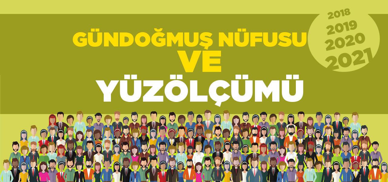 Antalya Gündoğmuş Nüfusu 2020 - 2021 | Gündoğmuş İlçesinin Yüzölçümü kaçtır?