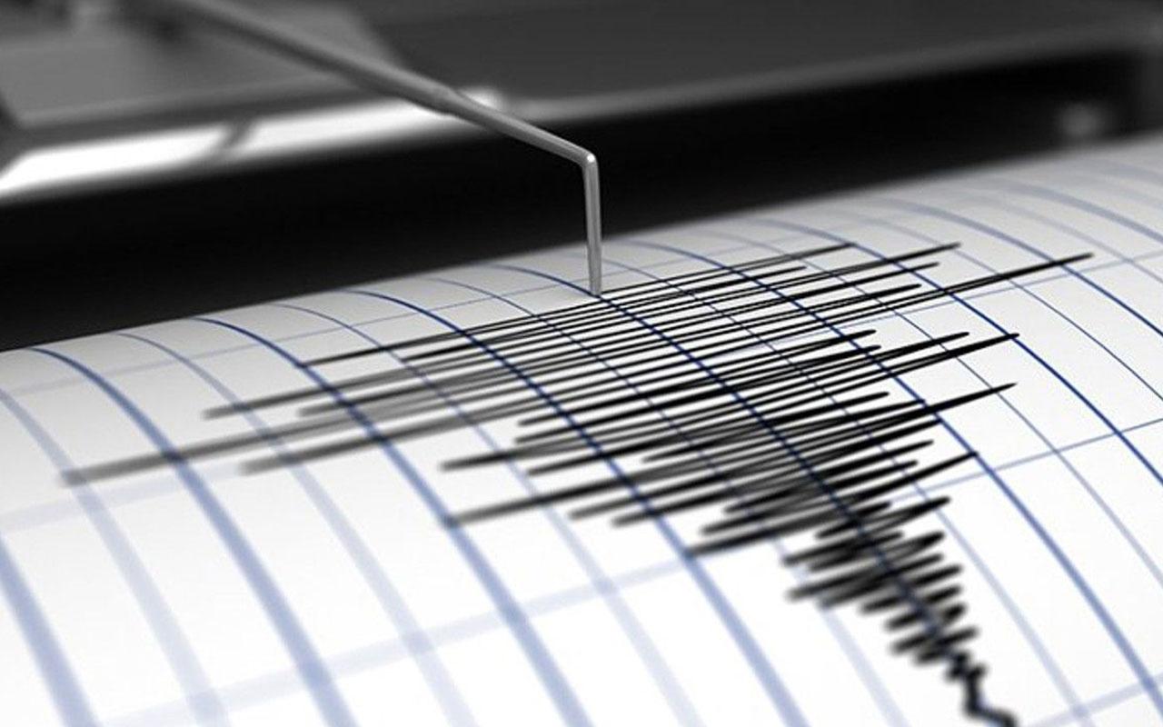 Ege Denizi açıklarında 3,1 şiddetinde deprem!