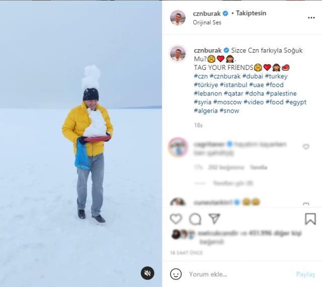 CZN Burak'ın Çıldır Gölü paylaşımına halk tepkisi