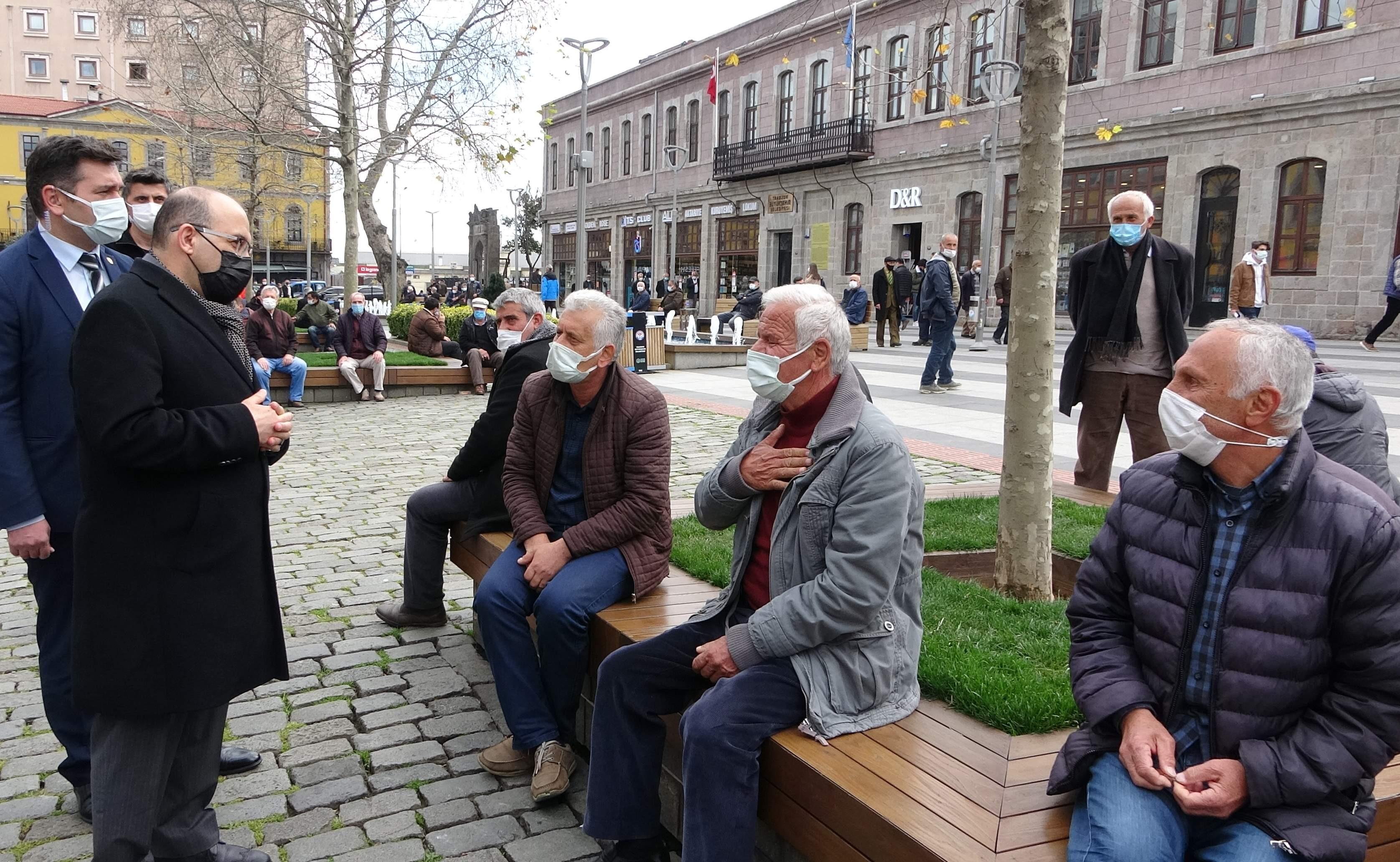 Trabzon'da azalan korona vakaları yükselişe geçti. Vali Ustaoğlu vatandaşları uyardı!