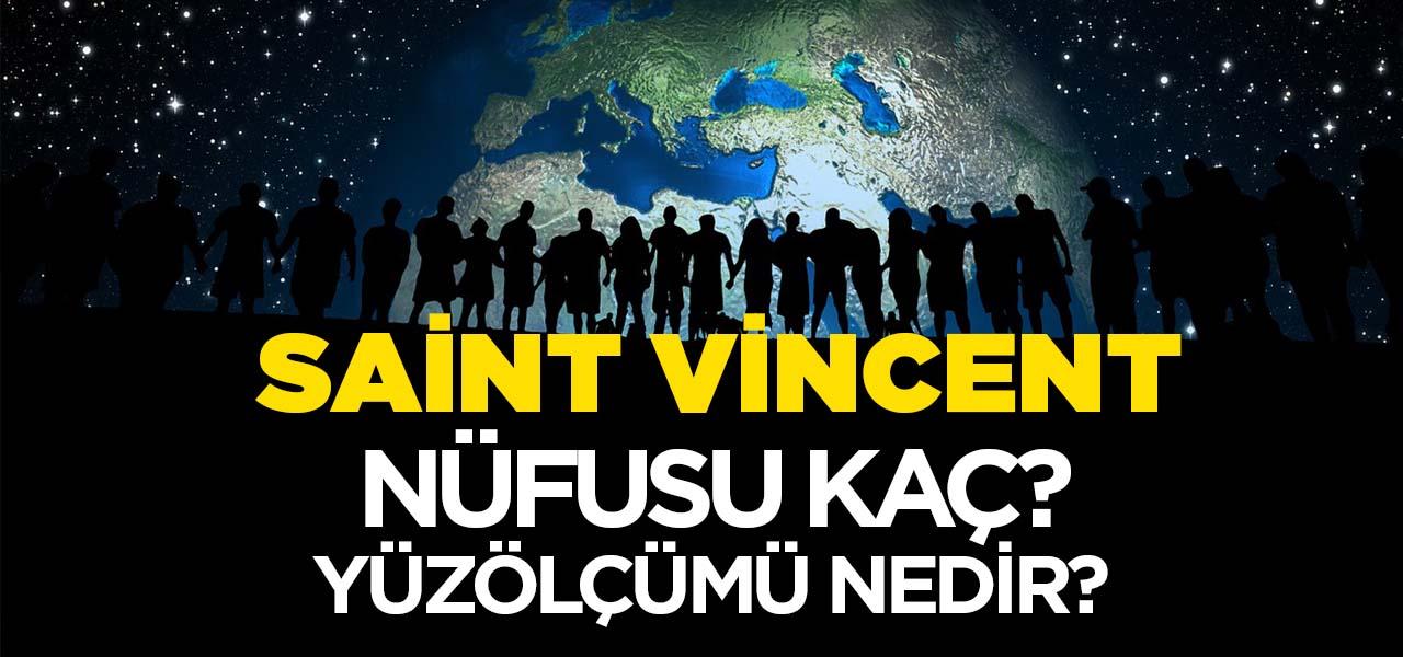 Saint Vincent ve Grenadinler'in Nüfusu ve Yüzölçümü Kaçtır? Saint Vincent ve Grenadinler'in Haritadaki yeri, Konumu Nedir?