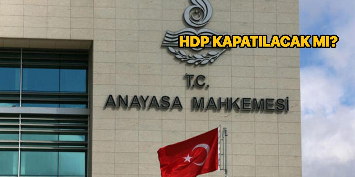 HDP kapatılacak mı? | HDP kapatma davası