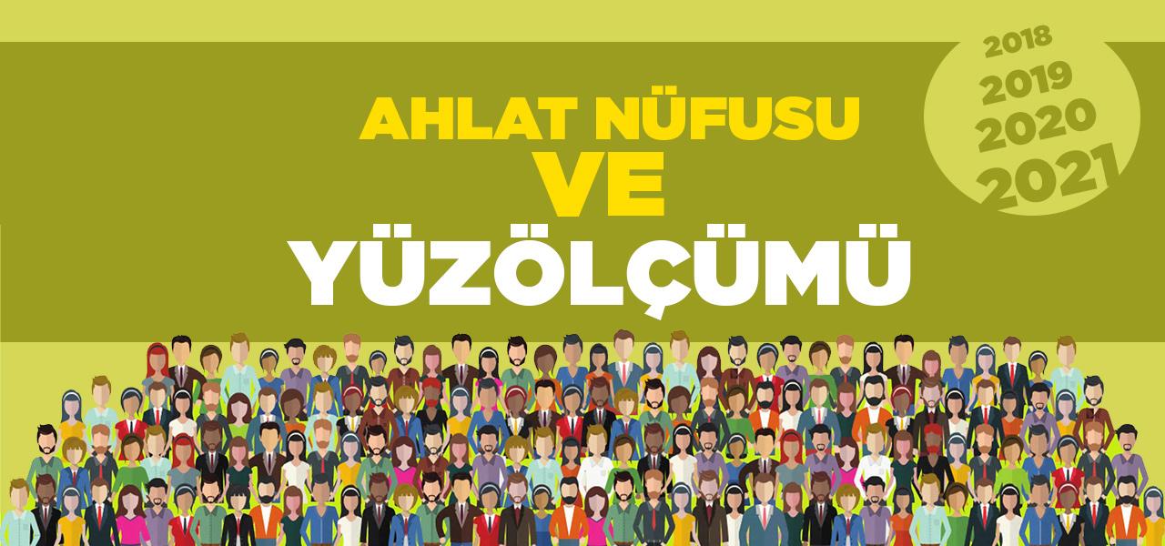 Bitlis Ahlat Nüfusu 2020 - 2021   Ahlat İlçesinin Yüzölçümü kaçtır?