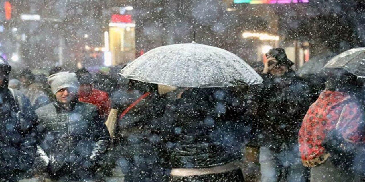 Meteoroloji o illeri uyardı! Soğuk hava kalıcı... Kar geri dönüyor!