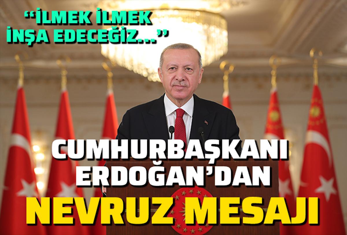 Erdoğan'dan Nevruz mesajı: Daha güvenli bir geleceği ilmek ilmek inşa etmeyi sürdüreceğiz
