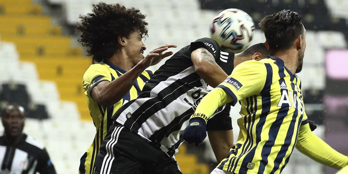 Beşiktaş 1 - 1 Fenerbahçe | MAÇ SONUCU