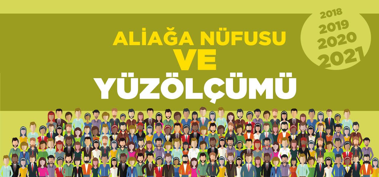 İzmir Aliağa Nüfusu 2020 - 2021   Aliağa İlçesinin Yüzölçümü kaçtır?
