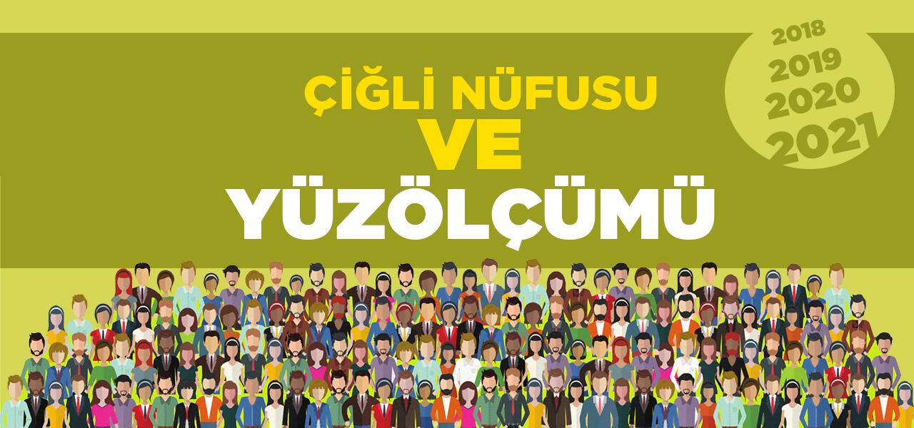 İzmir Çiğli Nüfusu 2020 - 2021   Çiğli İlçesinin Yüzölçümü kaçtır?