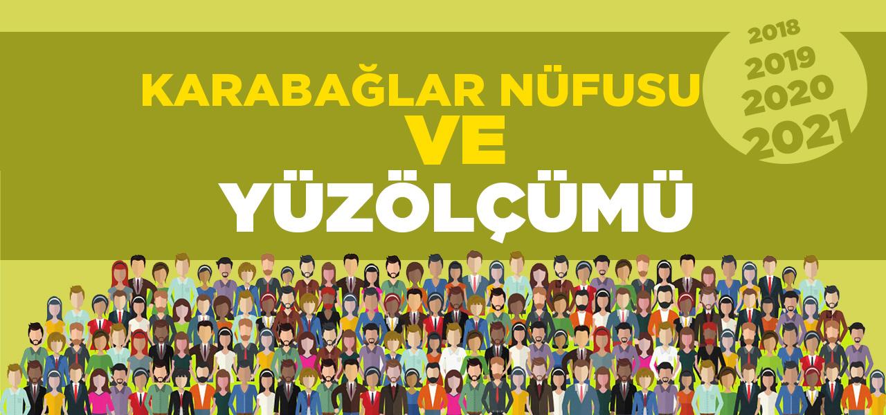 İzmir Karabağlar Nüfusu 2020 - 2021 | Karabağlar İlçesinin Yüzölçümü kaçtır?