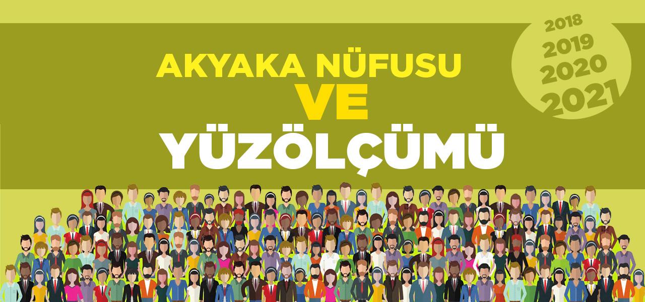 Kars Akyaka Nüfusu 2020 - 2021   Akyaka İlçesinin Yüzölçümü kaçtır?