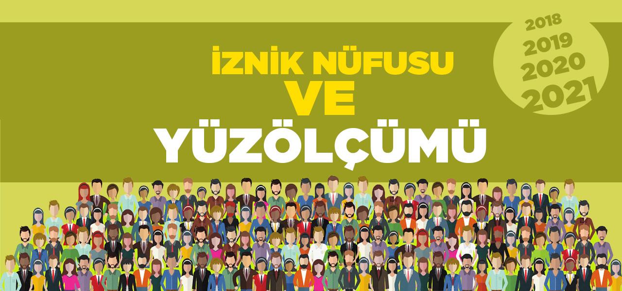 Bursa İznik Nüfusu 2020 - 2021 | İznik İlçesinin Yüzölçümü kaçtır?