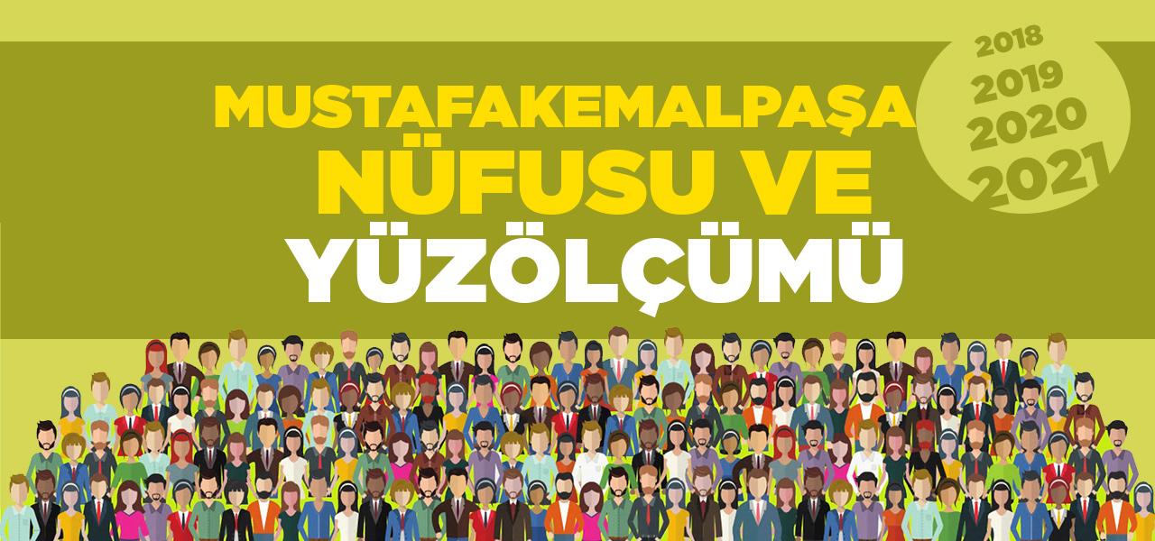 Bursa Mustafakemalpaşa Nüfusu 2020 - 2021 | Mustafakemalpaşa İlçesinin Yüzölçümü kaçtır?