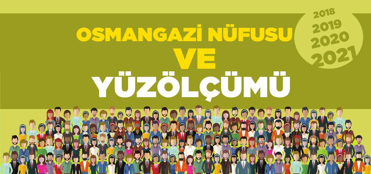 Bursa Osmangazi Nüfusu 2020 - 2021 | Osmangazi İlçesinin Yüzölçümü kaçtır?