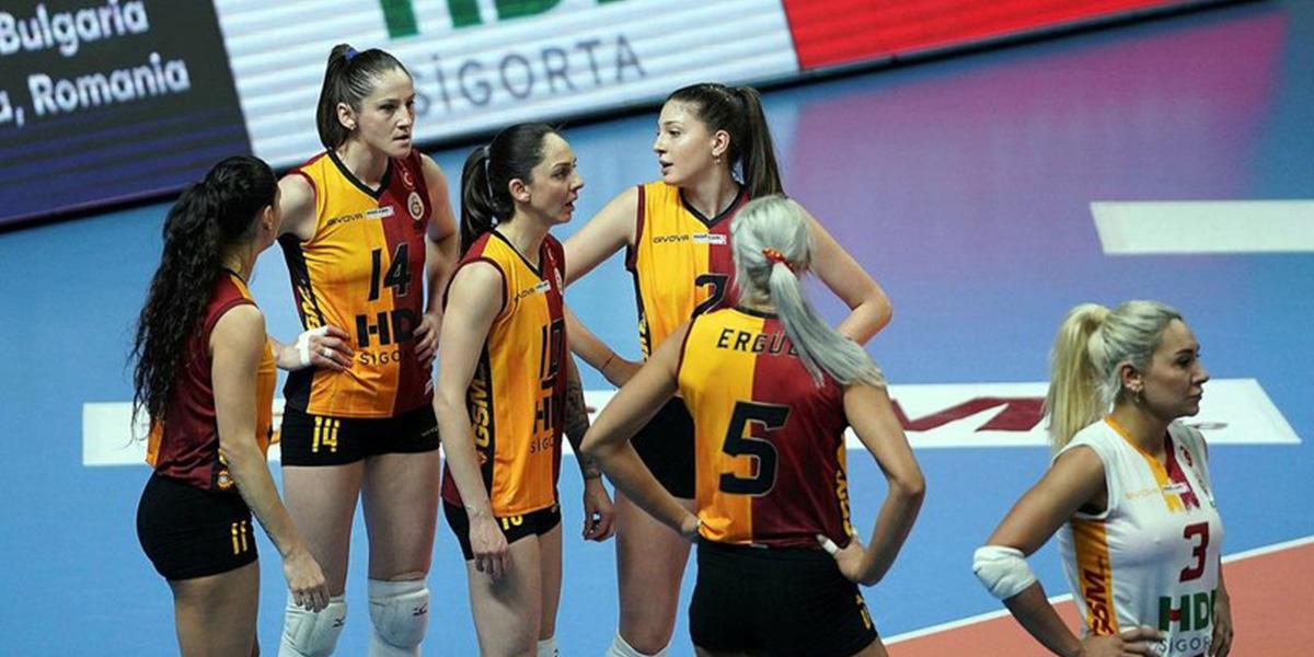 Son dakika | Galatasaray HDI Sigorta Kadınlar CEV Kupası'nda ikinci oldu