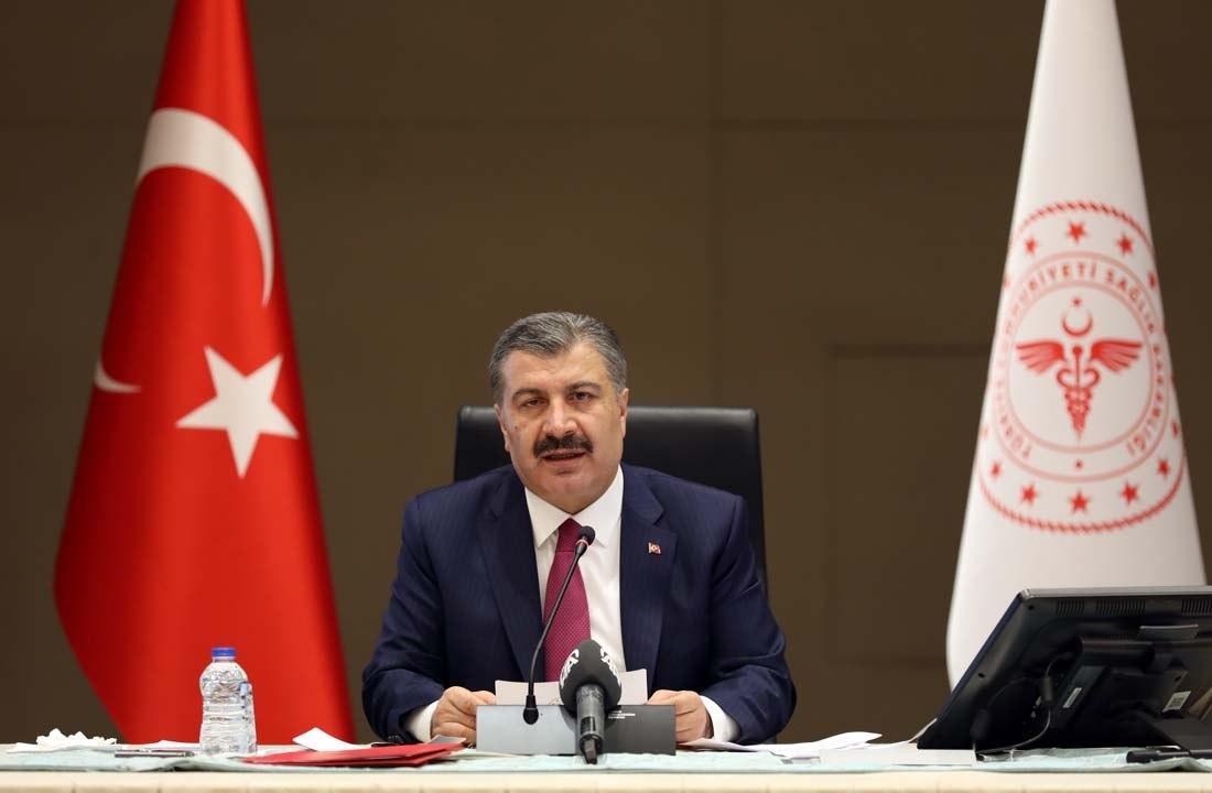 Bakan Koca'dan TÜSPE konuşması: Ülkemiz bu süreçte sahip olduğu imkanları dünya ile paylaştı!