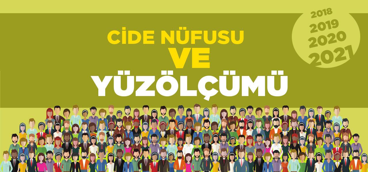 Kastamonu Cide Nüfusu 2020 - 2021 | Cide İlçesinin Yüzölçümü kaçtır?