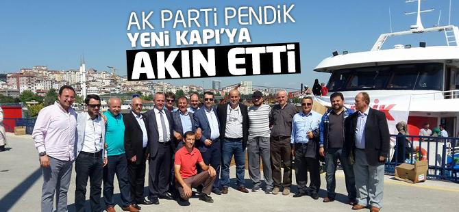 AK Parti Pendik Yenikapı'ya Akın Etti