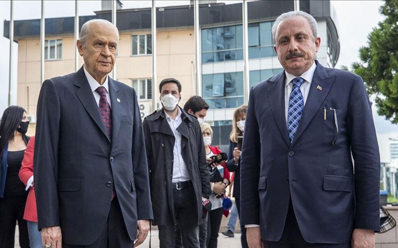 'Mustafa Şentop'un Montrö açıklamaları MHP'yi kızdırdı' iddiası!
