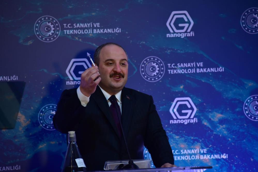 Bakan Varank açıkladı: Dünyada bunu yapabilen 10 ülkeden biriyiz! Çelikten 200 kat daha mukavemetli