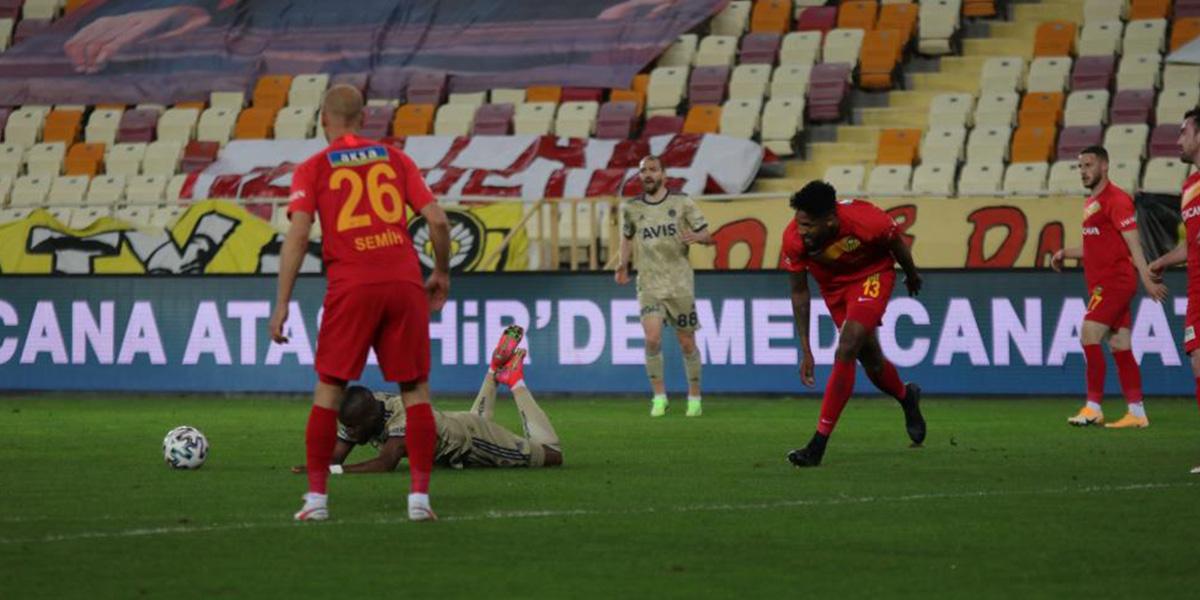 Yeni Malatyaspor 1 - 1 Fenerbahçe | MAÇ SONUCU