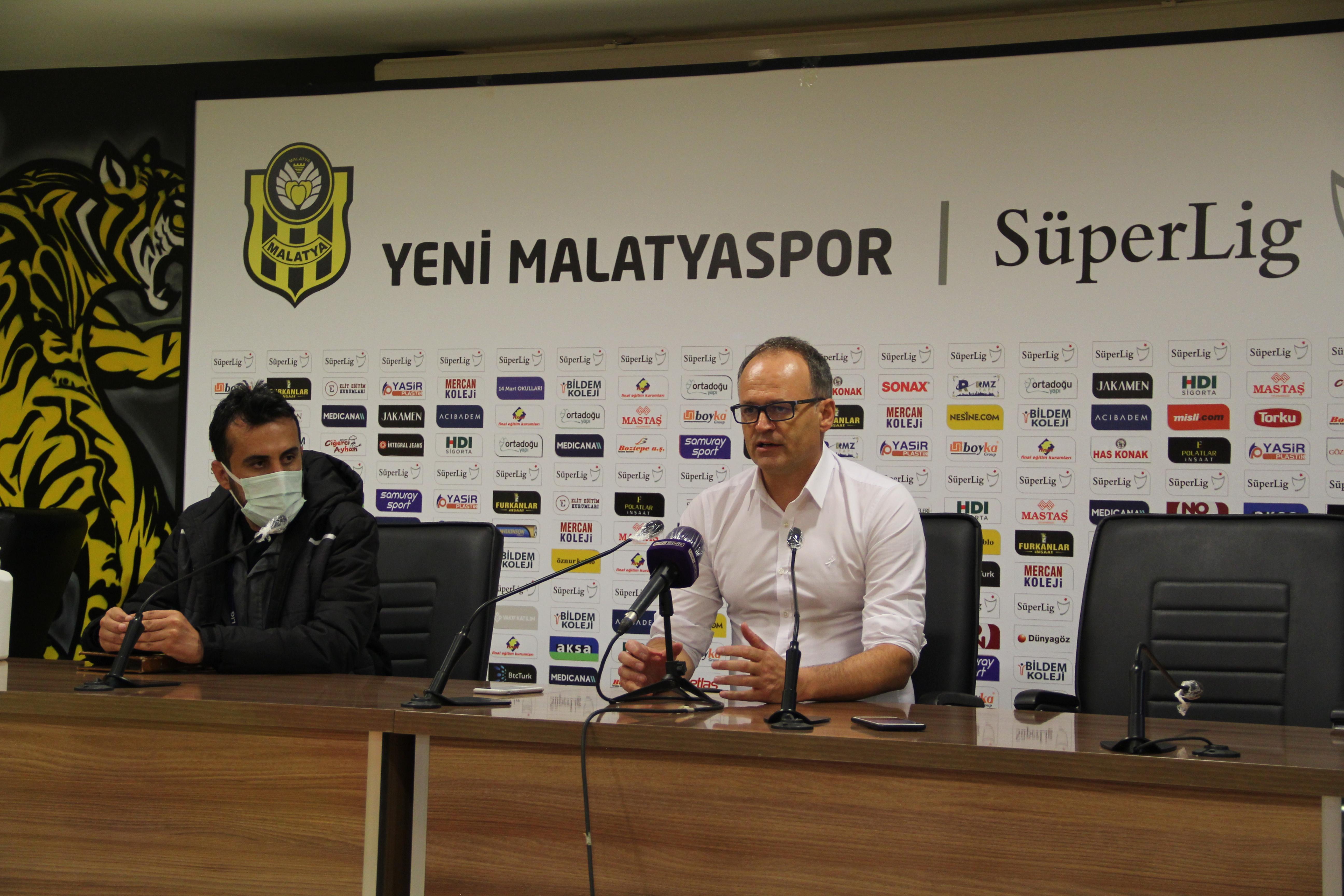 Yeni Malatyaspor-Fenerbahçe maçının ardından  İrfan Buzdan açıklamalar