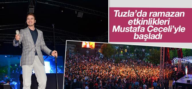 Tuzla'da Ramazan Etkinlikleri Mustafa Ceceli'yle başladı