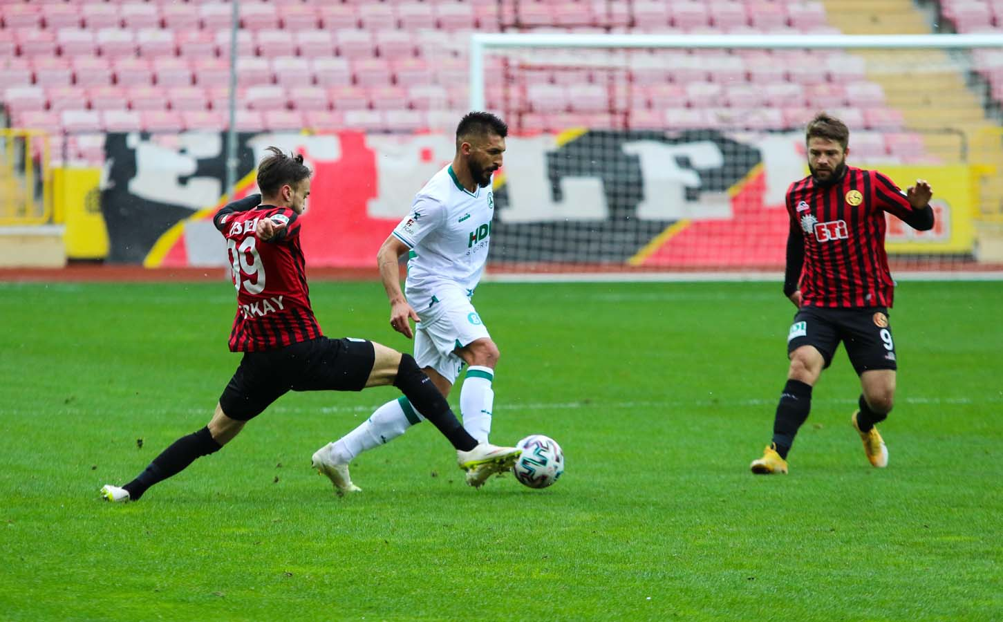 GZT Giresunspor, Eskişehirspor'a gol oldu yağdı: 5-0