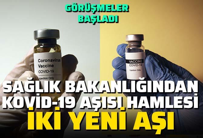 Sağlık Bakanlığından koronavirüs aşısı hamlesi! İki aşı için görüşmelere başlandı