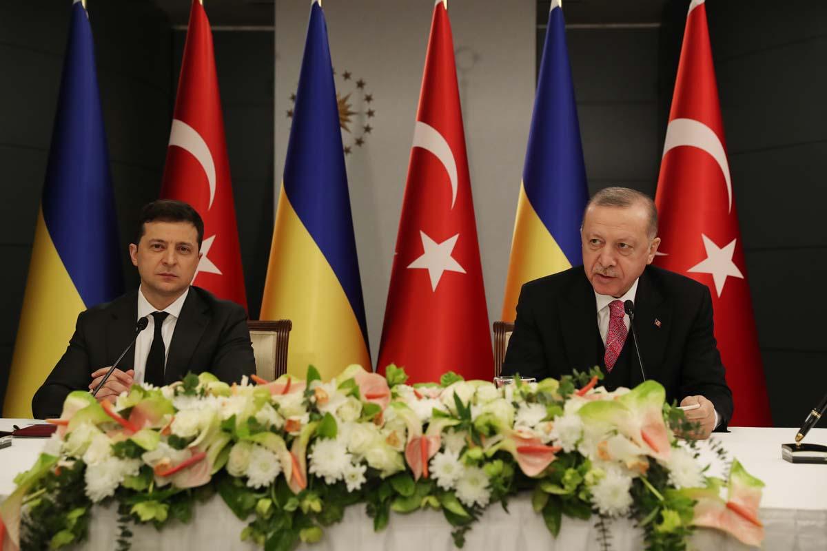 Cumhurbaşkanı Erdoğan ile Ukrayna liderinden ortak açıklama: Karadeniz'de sorun istemiyoruz!