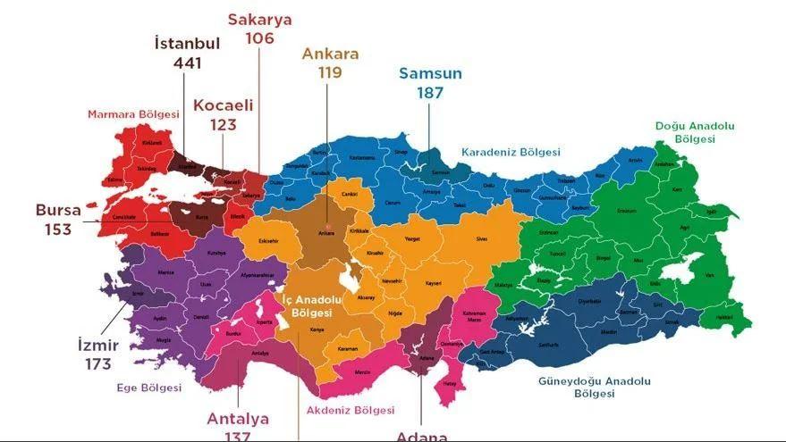 Türkiye'nin şiddet haritası belli oldu! Artan oranlar koronavirüsü solladı