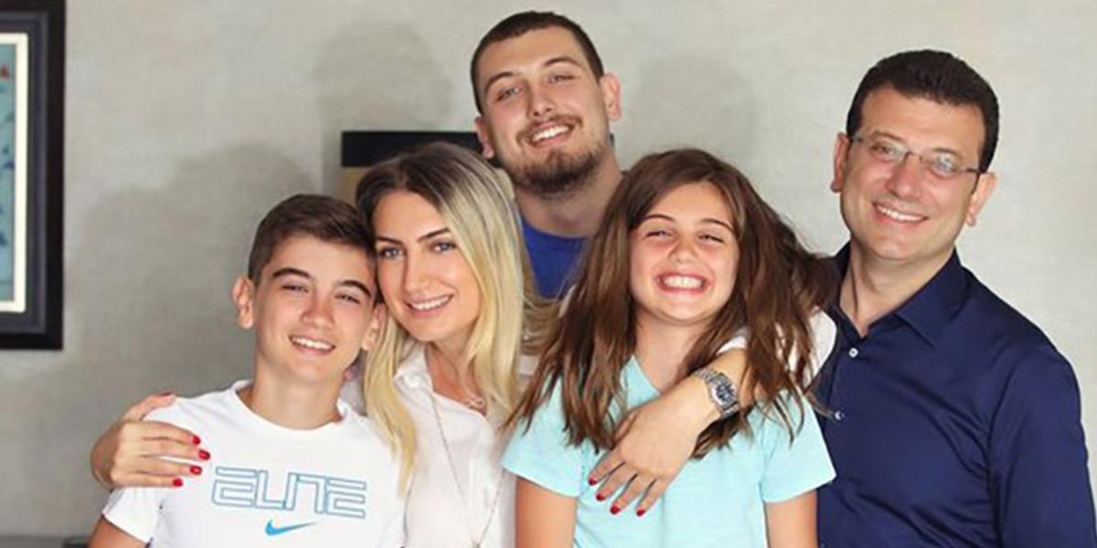 Ekrem İmamoğlu'nun eşi Dilek İmamoğlu ile 2 çocuğu koronaya yakalandı