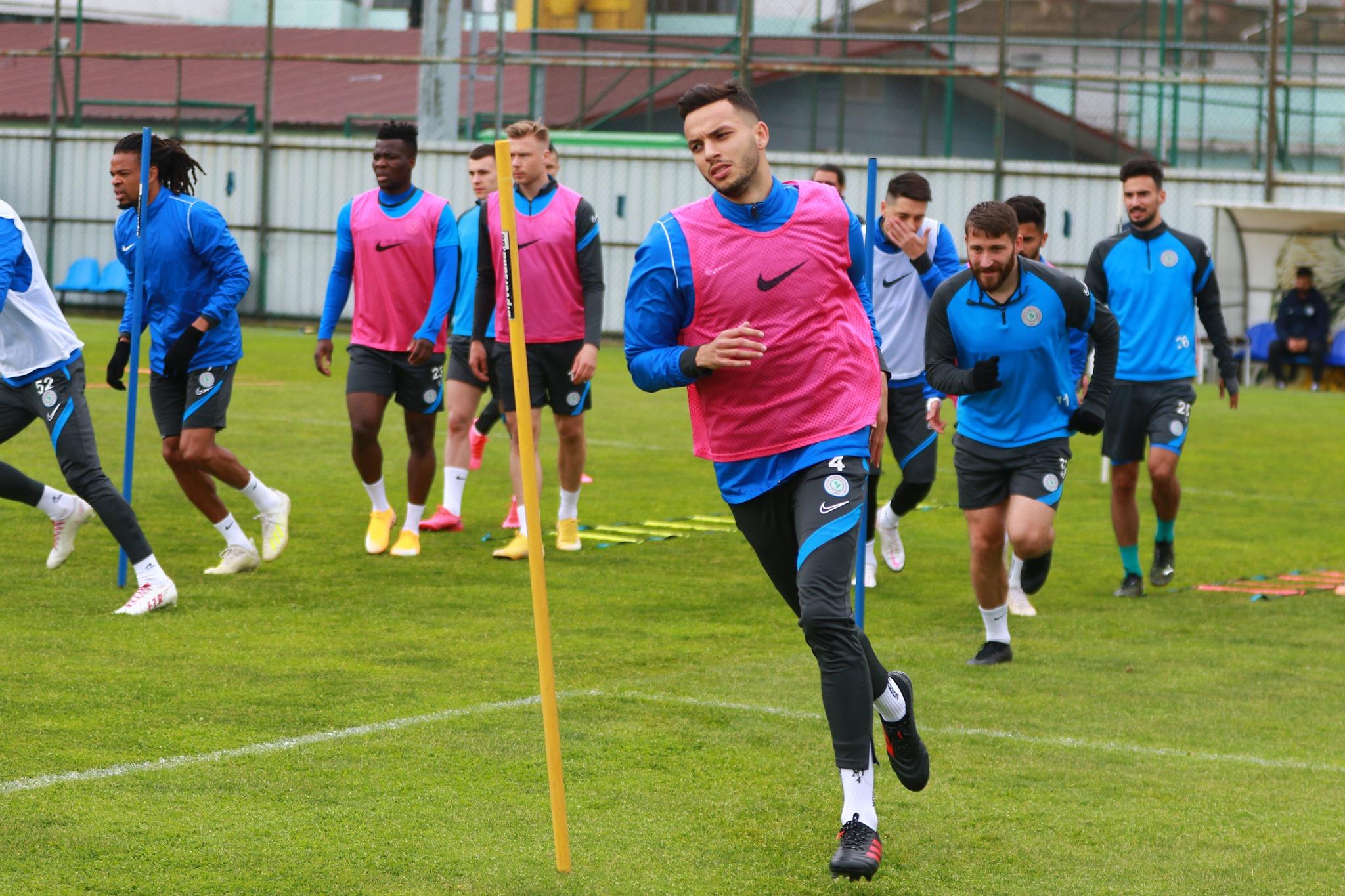 Deplasman hazırlıkları! Çaykur Rizespor-Antalyaspor maçı hazırlıkları