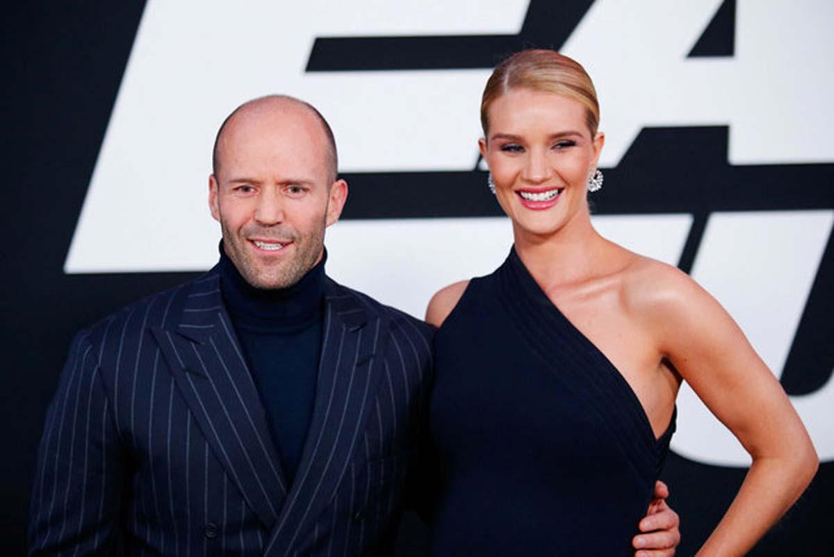 Dünyaca ünlü Jason Statham- Rosie Huntington çiftinin Türkiye aşkı!