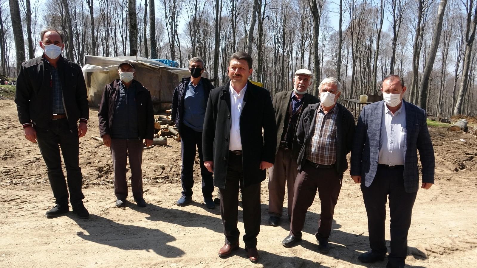 Mağdur olduğunu söyleyen Orman köylüsü kesim hakkını geri istiyor
