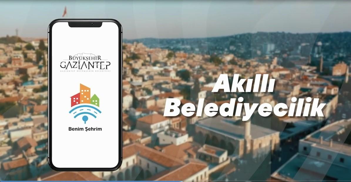 """Gaziantep Büyükşehir Belediyesi """"Akıllı Belediyecilik"""" alanında bir projeye imza attı"""