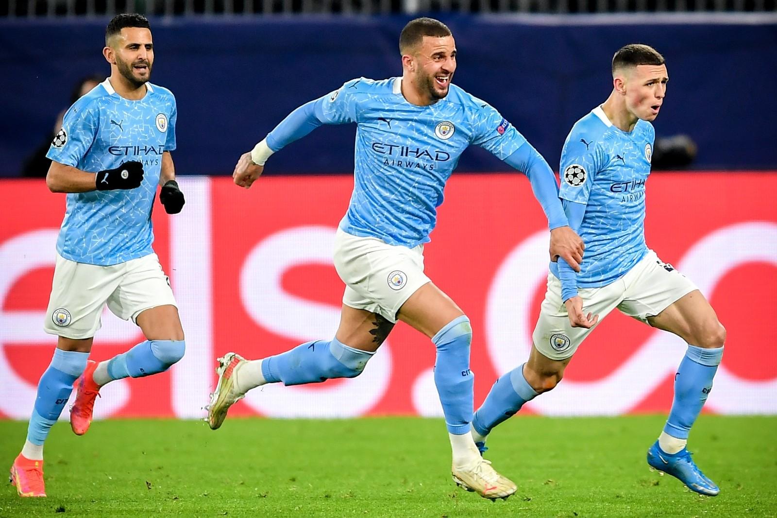 Manchester City, Dortmund'u 2-1 mağlup ederek yarı finale yükseldi.