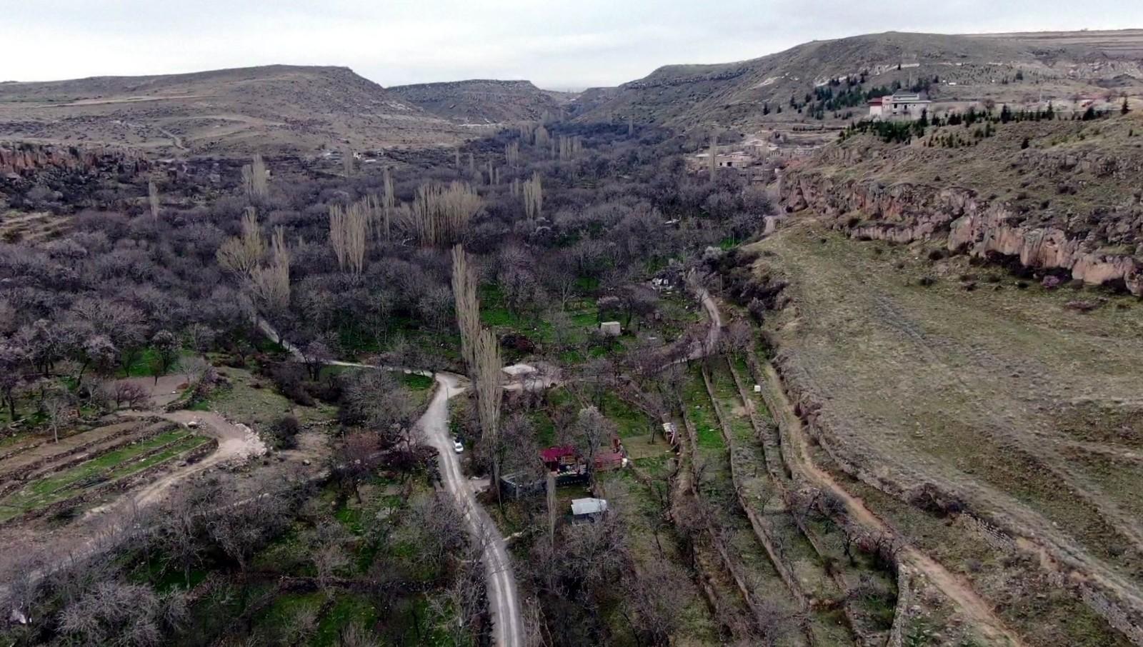 UNESCO miras listesinde olan Koramaz Vadisi'nde doğa canlanmaya başladı
