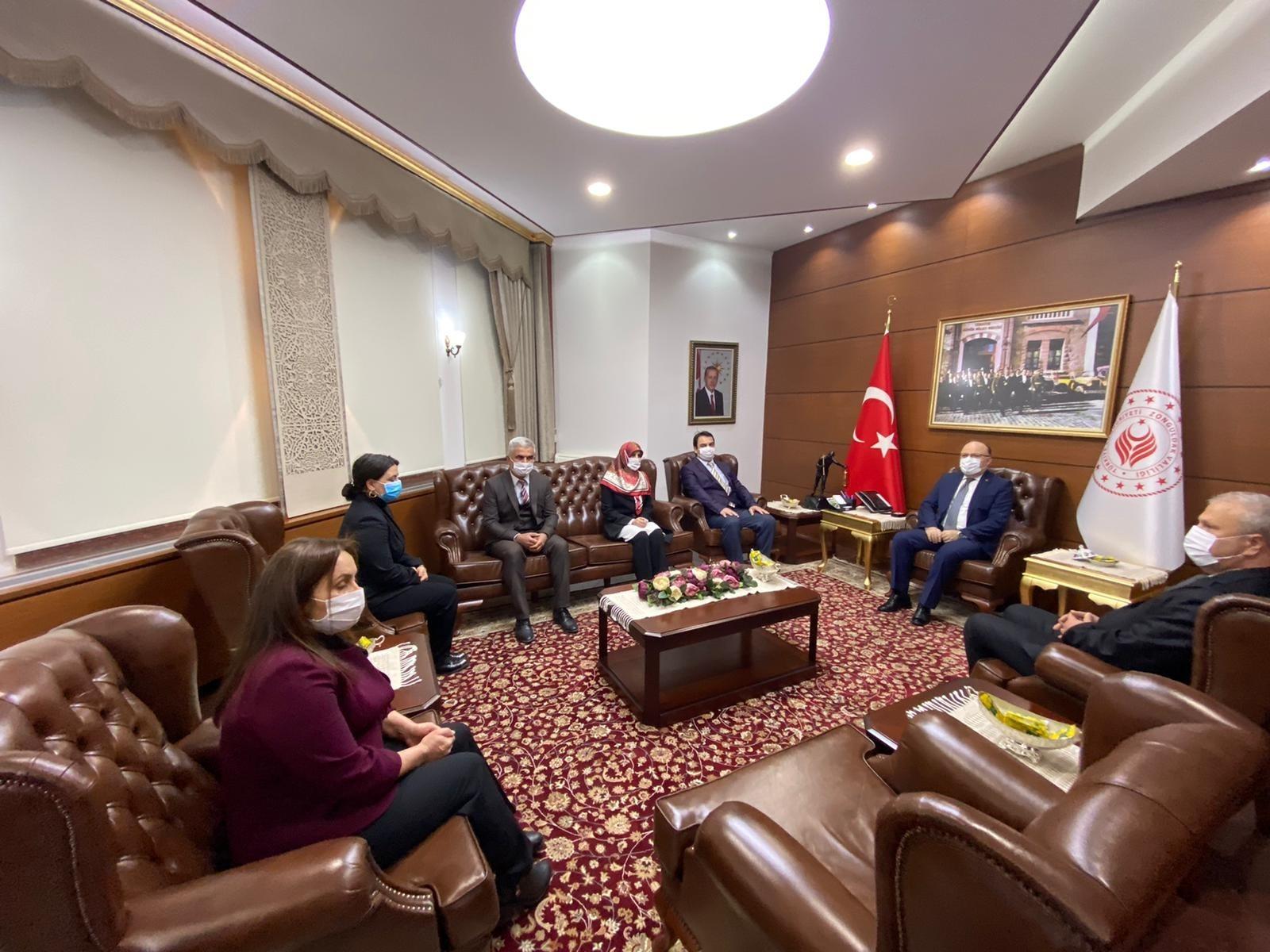 Zonguldak'ta koronavirüs tedbirleri atında turizm haftası kutlandı