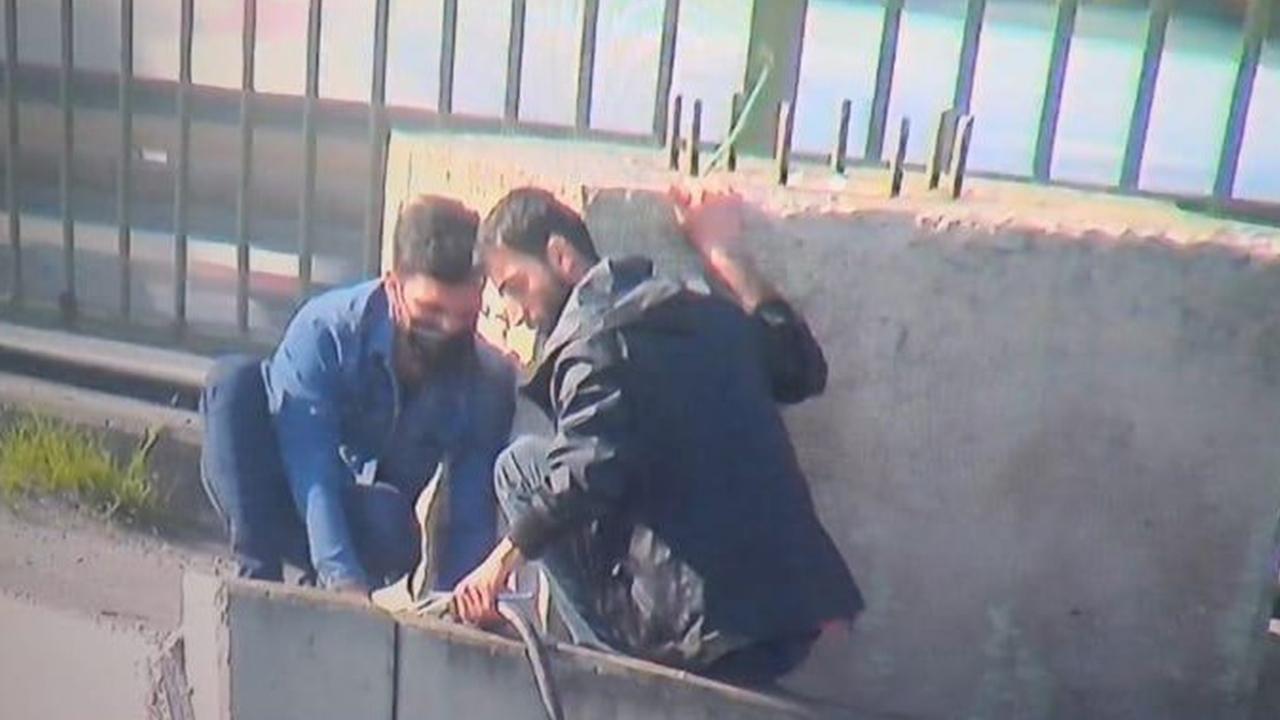 Trafo kablolarına dadanmışlardı! Ataşehir'deki kablo hırsızları yakayı ele verdi