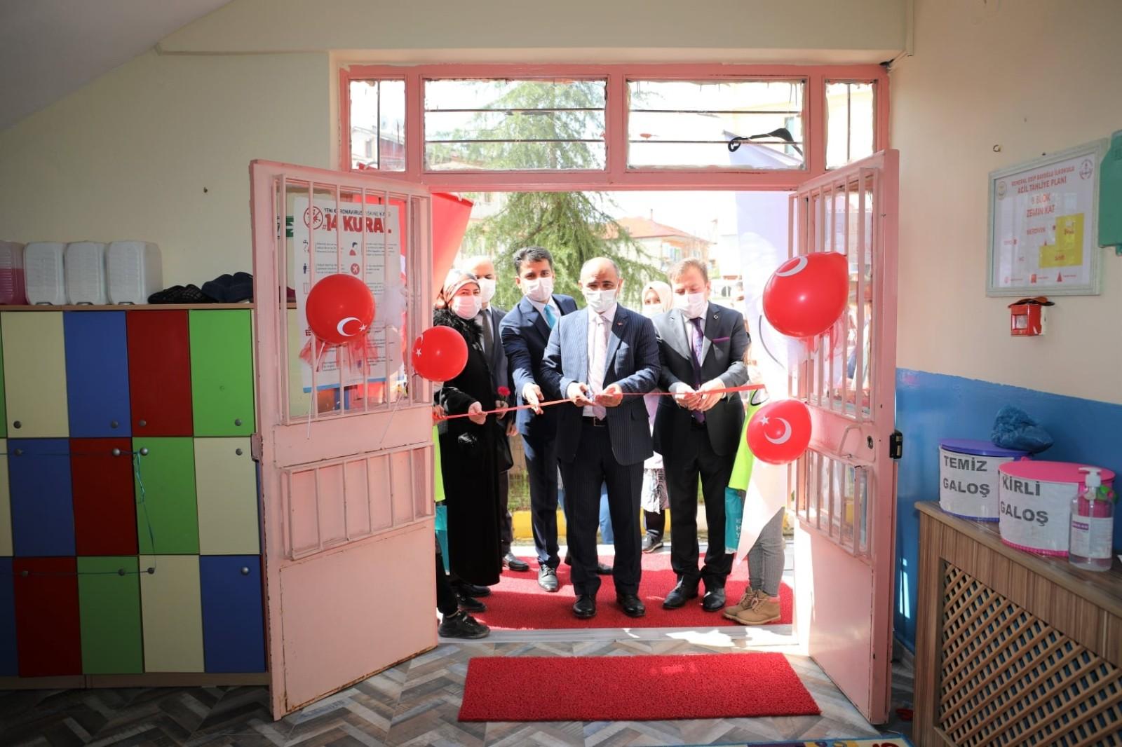 Vatandaşların talebi üzerine Barbaros Mahallesi'nde anaokulu açıldı
