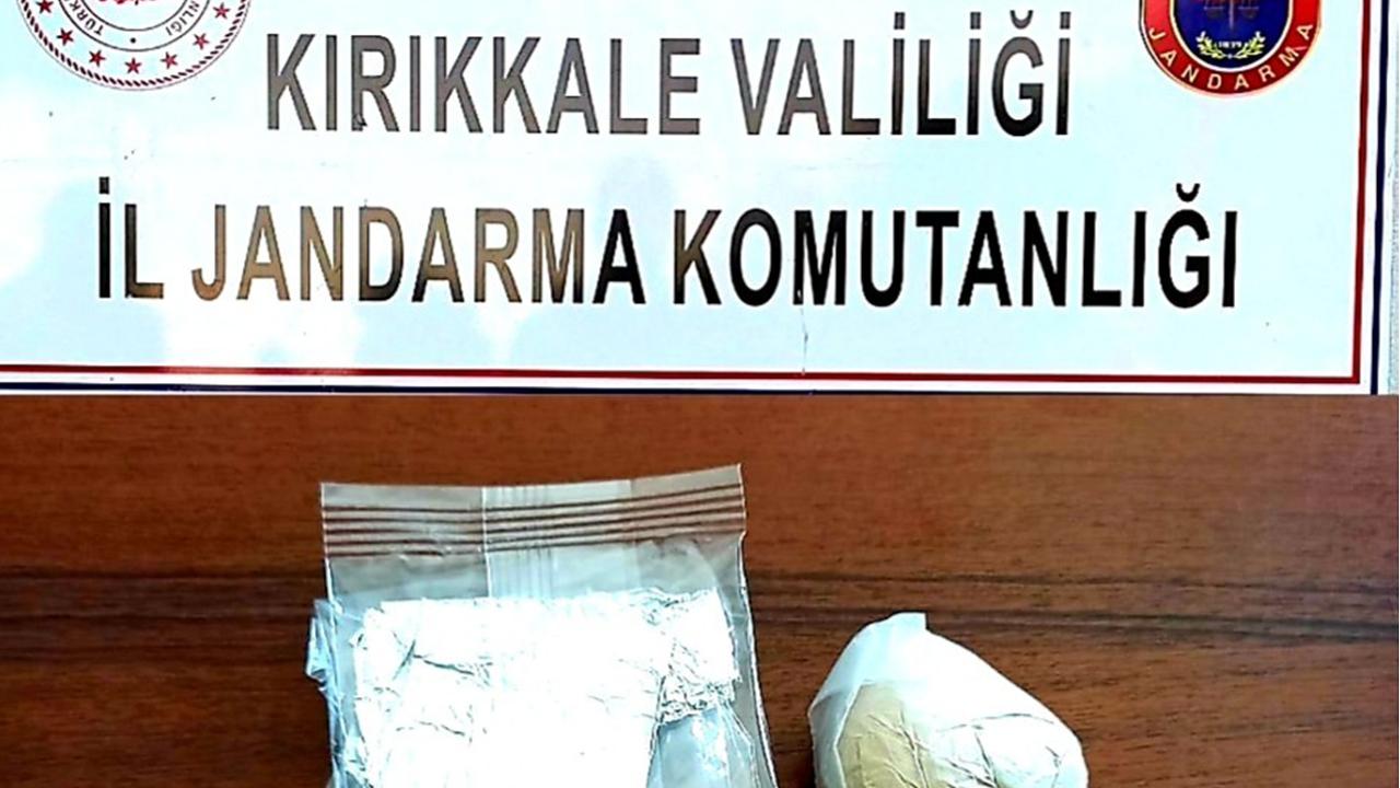 Zehir tacirlerine darbe! Kırıkkale'de 40 gram eroin ele geçirildi