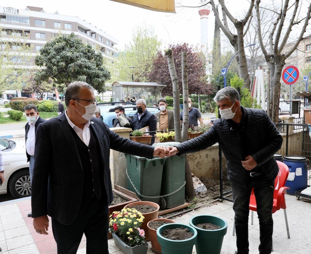 Koronavirüse karşı vatandaşlara çağrı yaptı! Başkan Çerçi'den korona virüs uyarısı