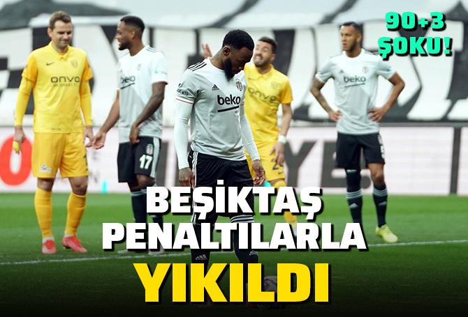 Beşiktaş 2 - 2 Ankaragücü | MAÇ SONUCU