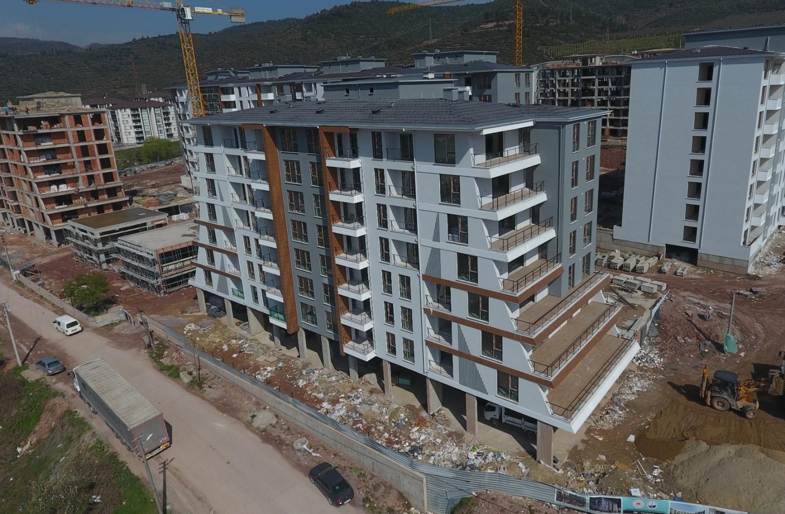 Kocaeli'de kentsel dönüşüm çalışmaları! Araptepe'deki çalışmalarının yüzde 65'i tamamlandı