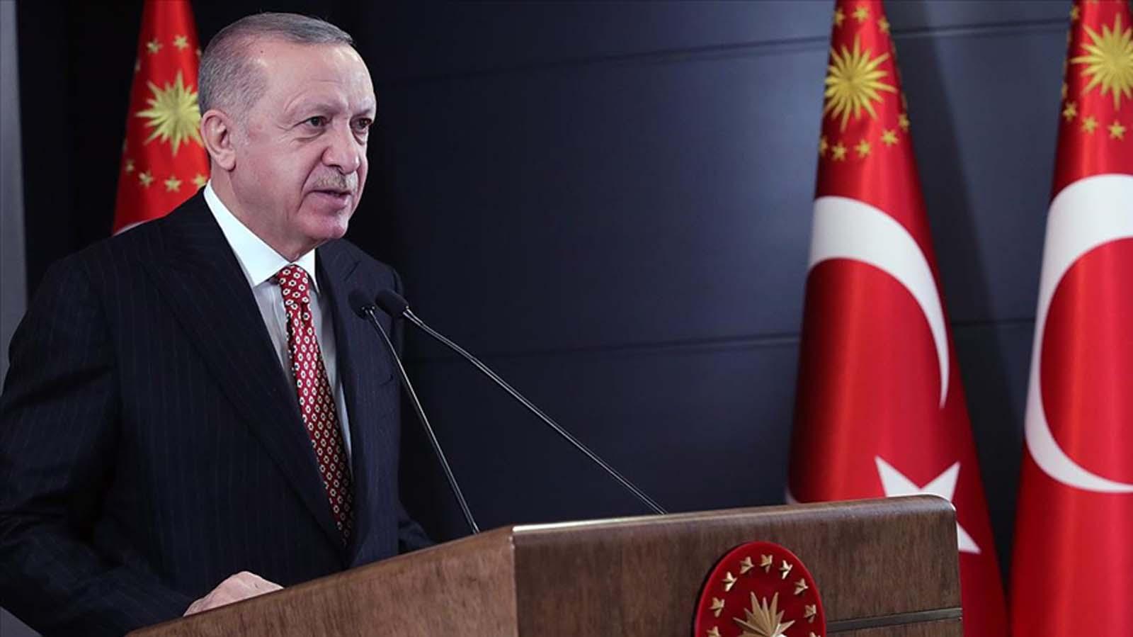 Cumhurbaşkanı Erdoğan: Bizi engellemek isteyenlere büyük eserleri ülkemize katarak yanıt verdik