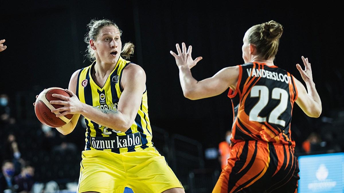 SON DAKİKA! Fenerbahçe Öznur Kablo, Sopron Basket'i mağlup etti!