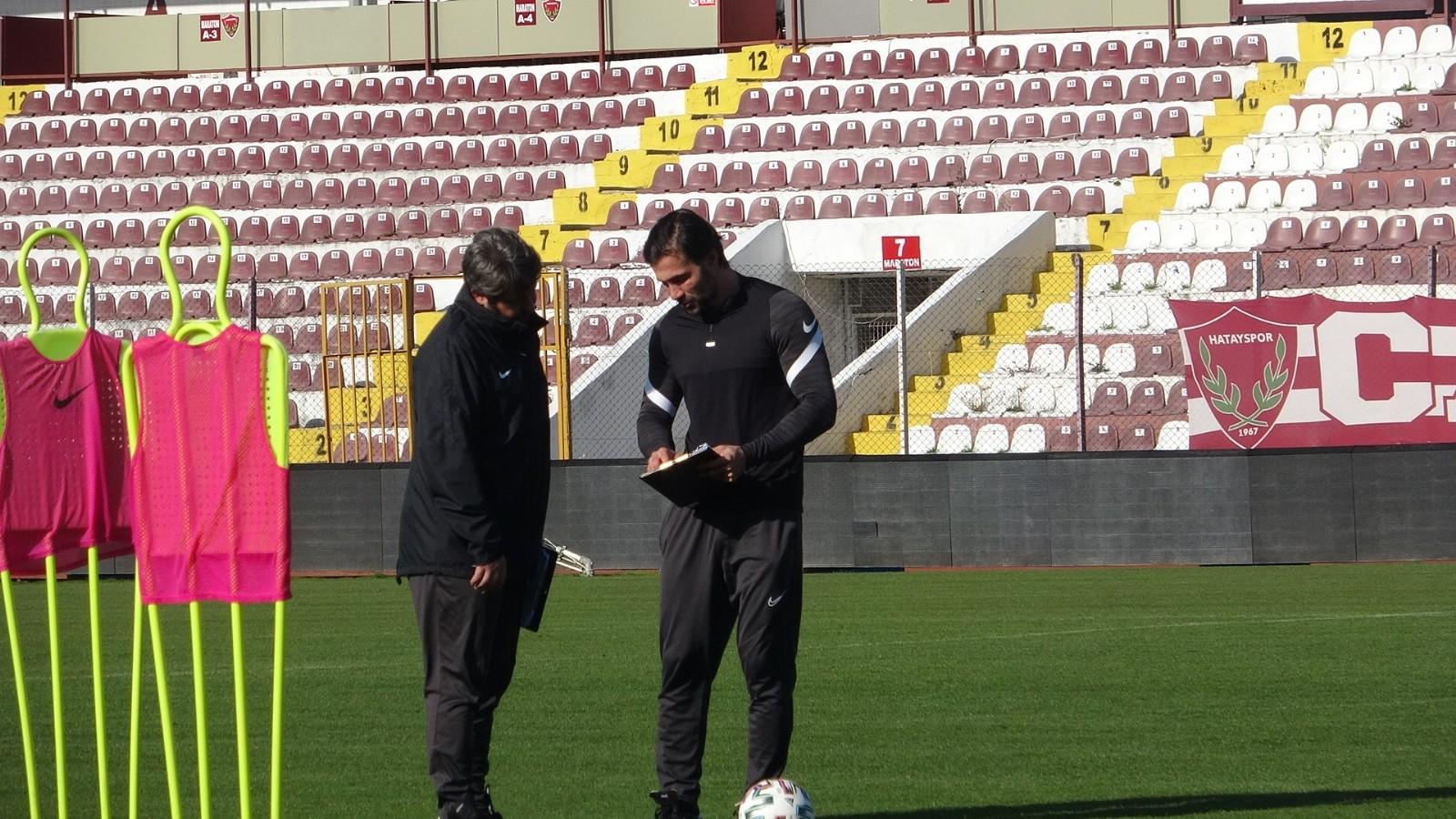 Antalyaspor maçı hazırlıkları! Hatayspor Avrupa potasına girme hesapları yapıyor